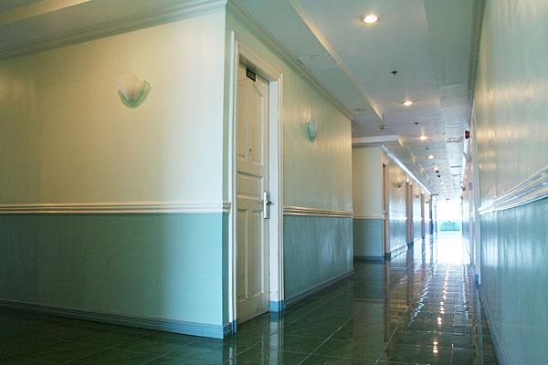 Hallways Metro Park Hotel