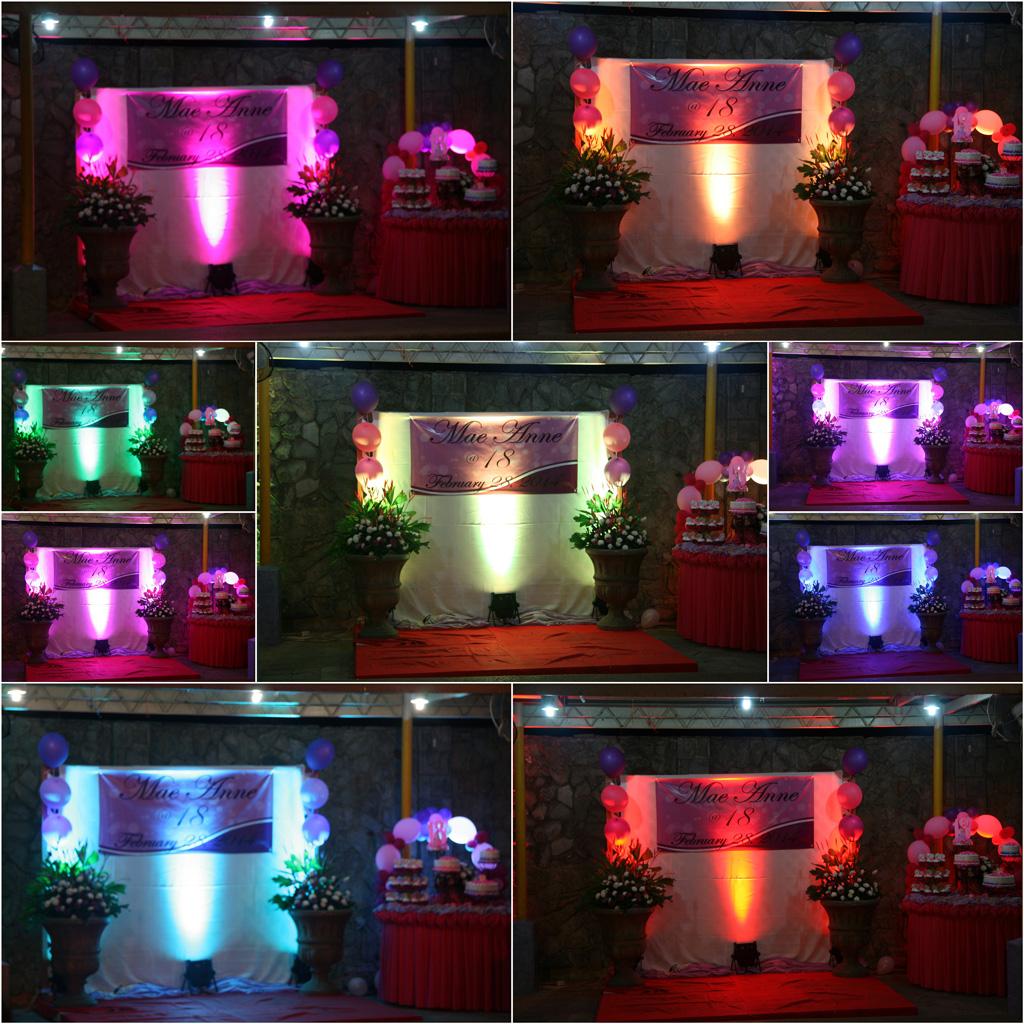 Mph Wedding Pool Side W Cac Led Lighting Addon Metro Park Hotel Cebu City