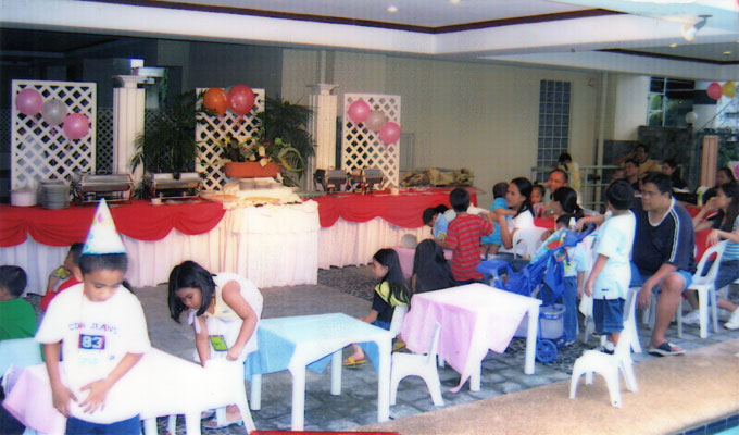 Children S Birthday Parties Metro Park Hotel