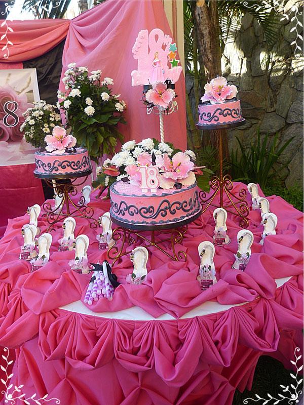 Goldilocks Cake Design For Debut : Debut (Poolside) Pictures - Metro Park Hotel - Cebu City