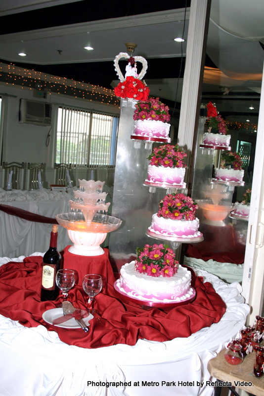 wedding cakes in cebu cakes metro park hotel cebu city 24595