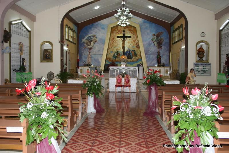 Church Wedding Decoration Philippines Photograph | church de